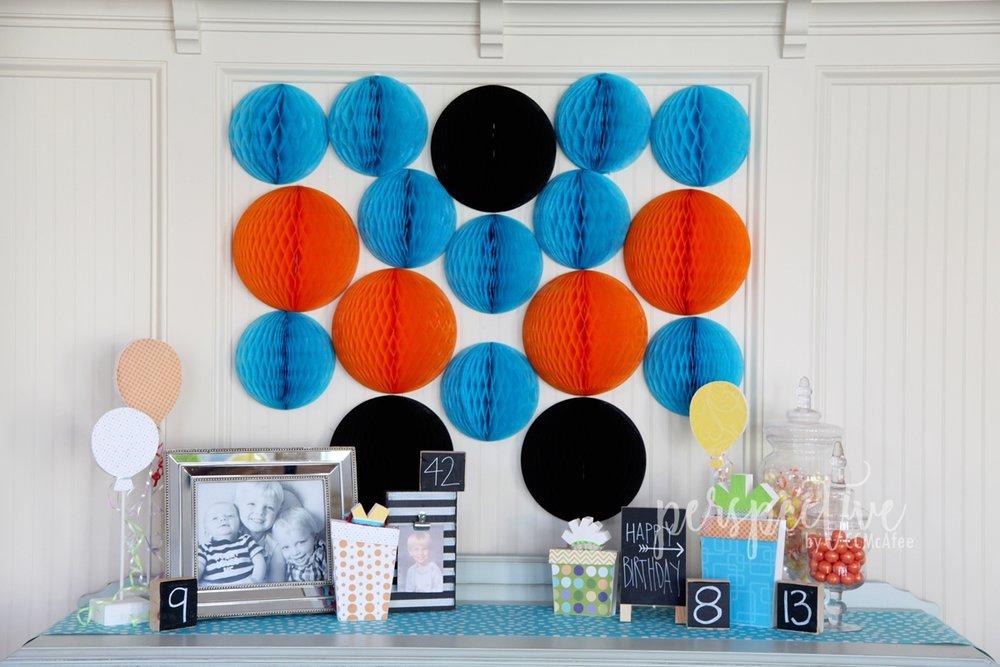 boy birthday decor