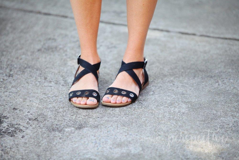 franco sarto rivet sandals