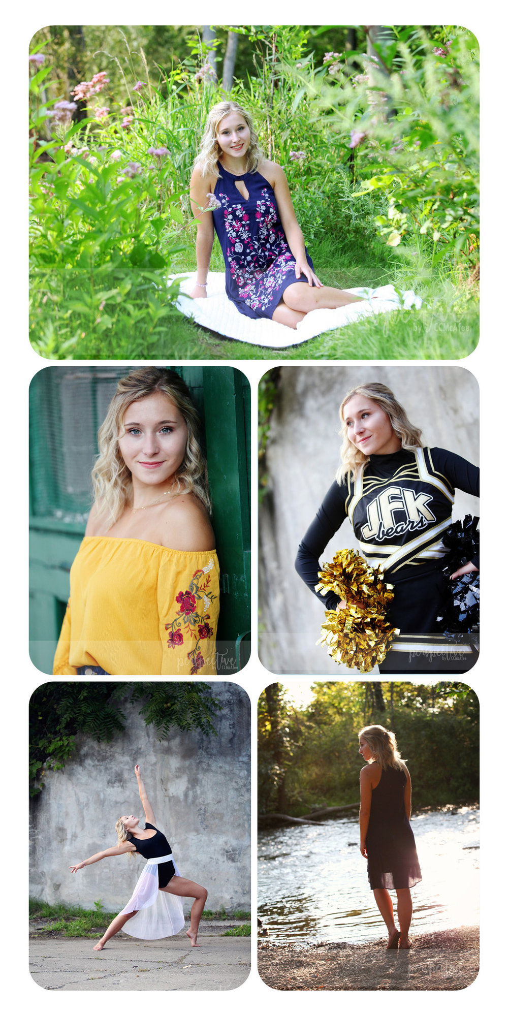 senior girl shoot