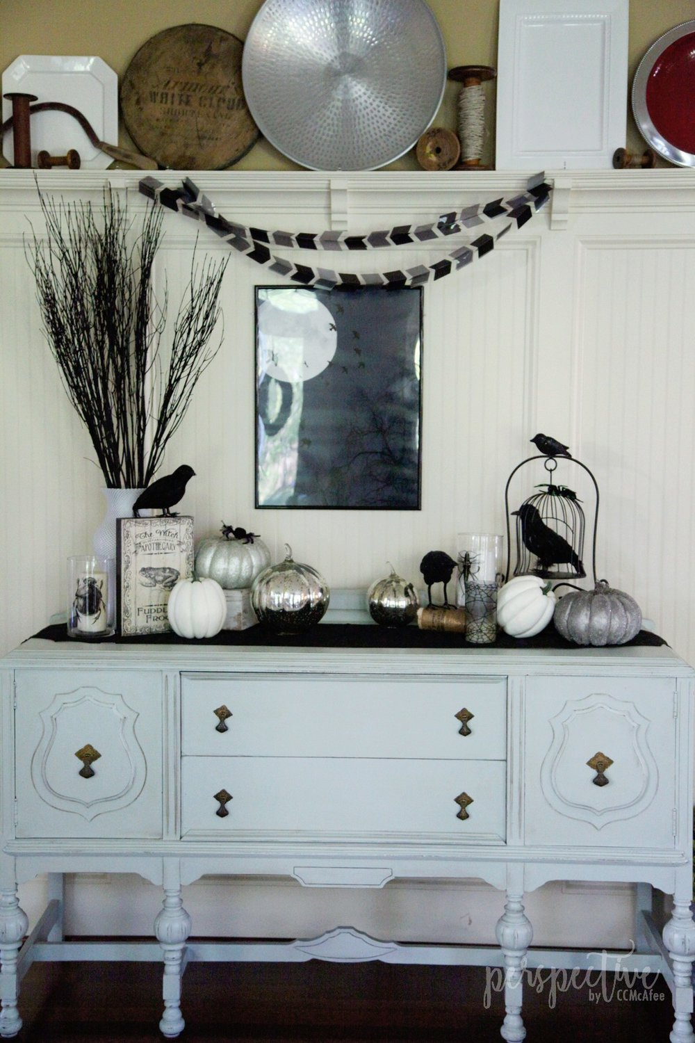 Perspective by CCMcAfee — Halloween Decor Tour - DESIGN AND DECOR