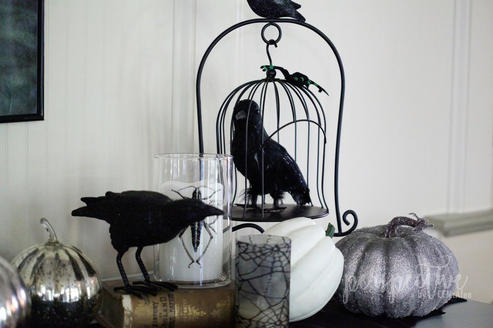 halloween decor kitchen