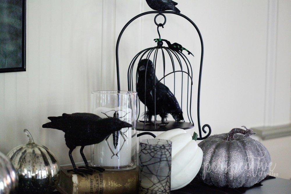 halloween decor kitchen