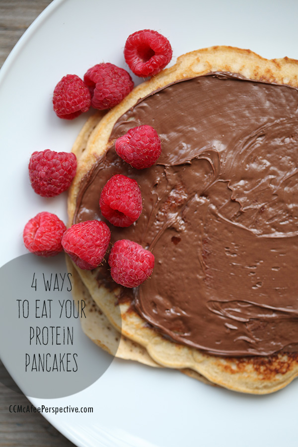PIN IT! - Pin and share your favorite way to eat protein pancakes!