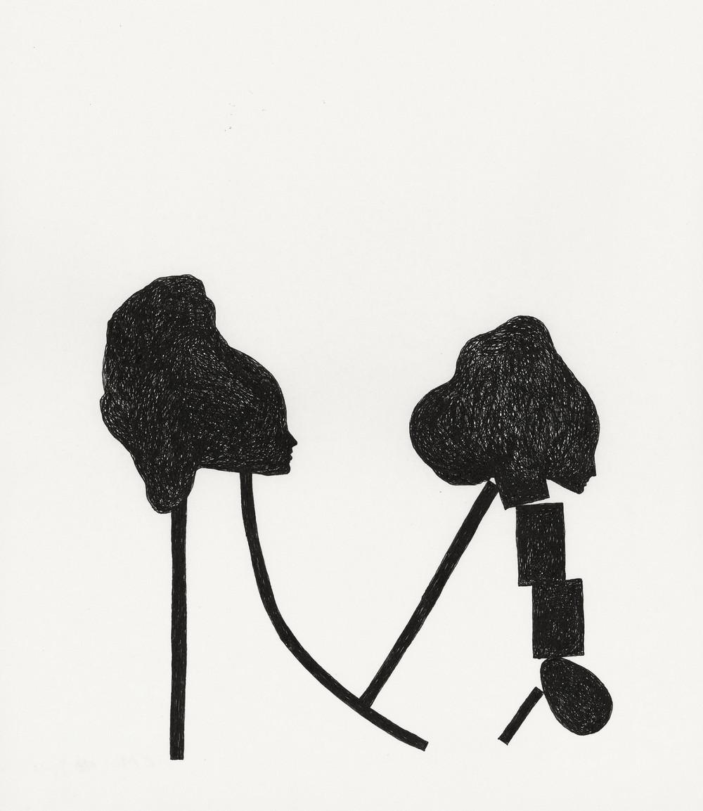 Untitled / 2010 pen on paper 23,5 x 29cm
