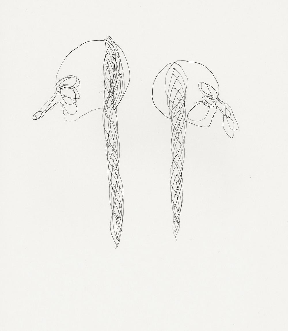 Untitled, 2010 pen on paper 23,5 x 29cm