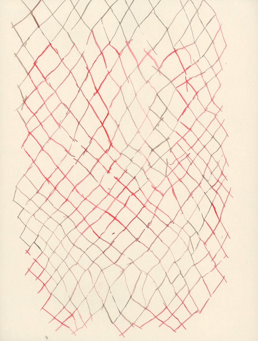 Untitled / 2010 ink on paper 30 x 40cm