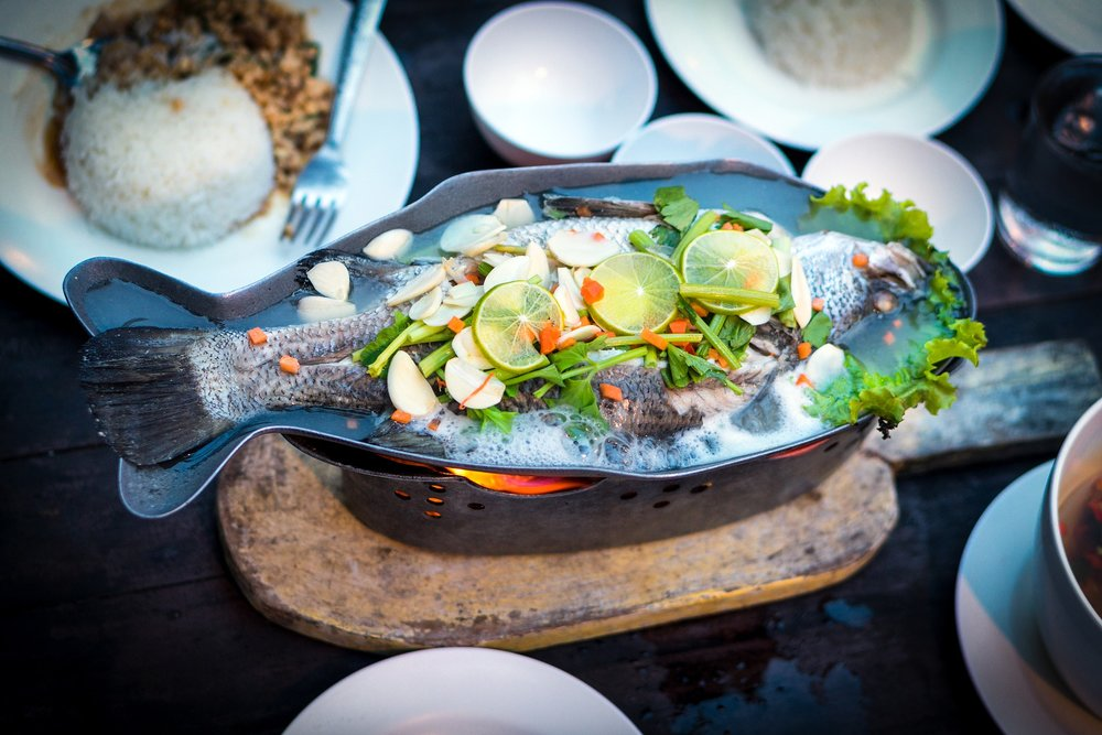 Fish superfood dish