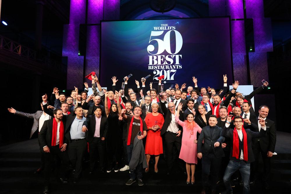Image: World's 50 Best Restaurants Awards