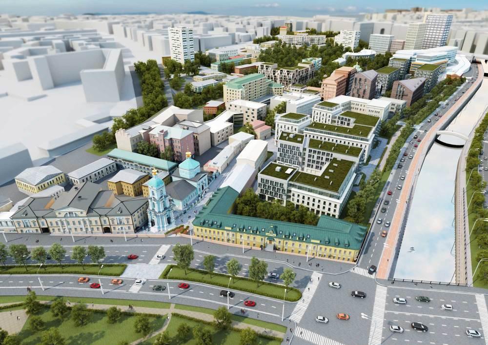 Вид на 11й микрорайон со стороны Яузской улицы