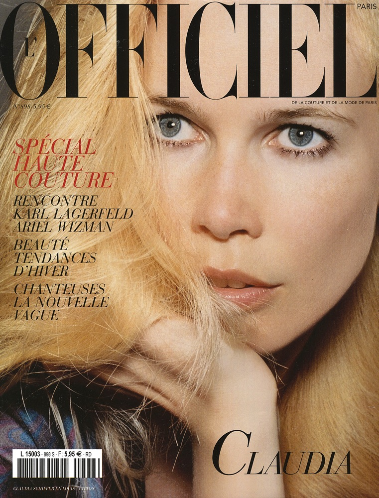 L'OFFICIEL.  Katja Rahlwes