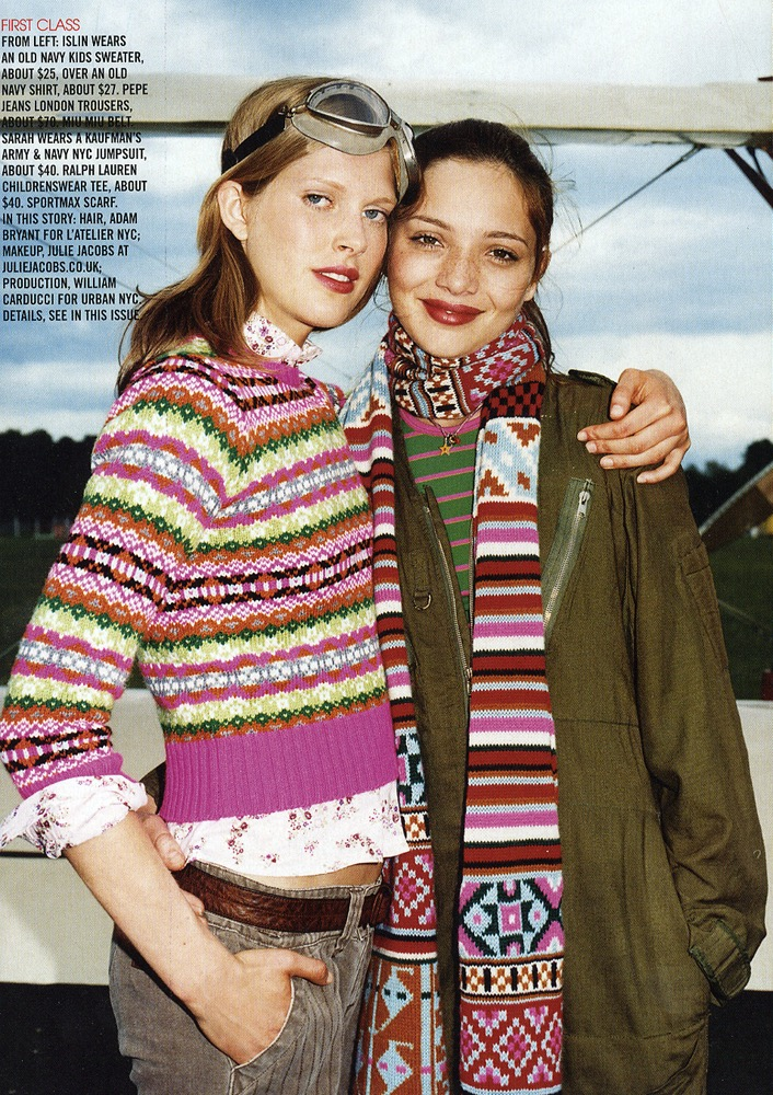 Teen Vogue.  Frederike Helwig