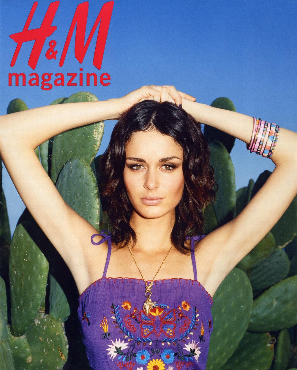 H&M Magazine.  Frederike Helwig