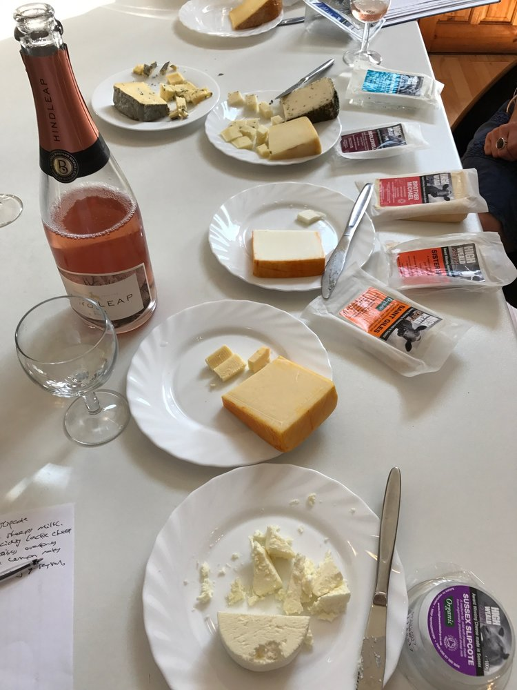 Cheese and wine paring tour