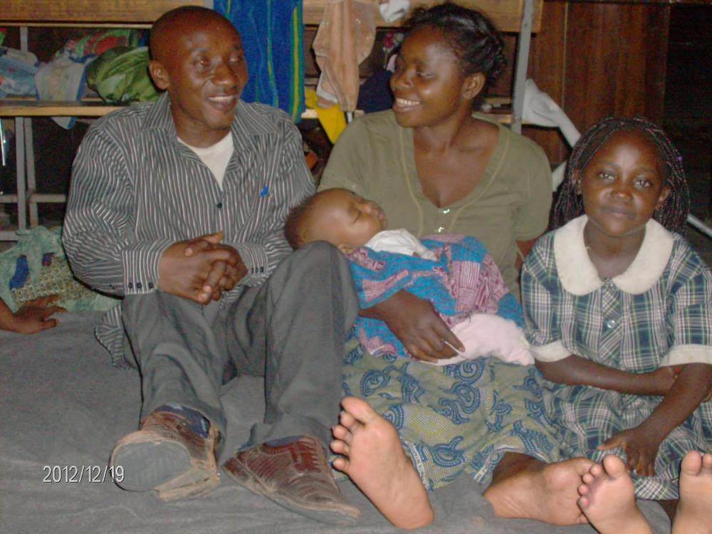 Mapendo and her family