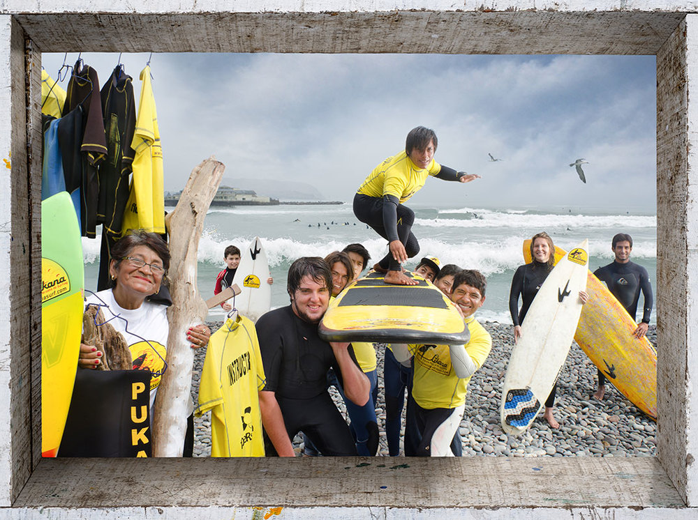 Escuela de Surf (Surfing School)