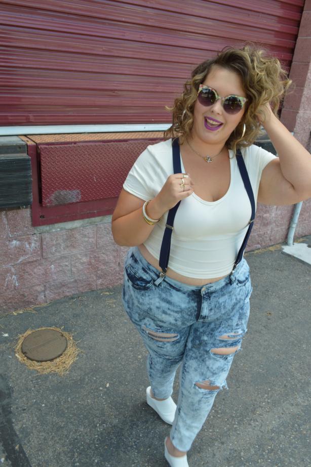 #denim, #plussizedenim, #plussizefashion, #plusmodelmag, #pmmdenim, forever 21 plus size, plus size pants, asos
