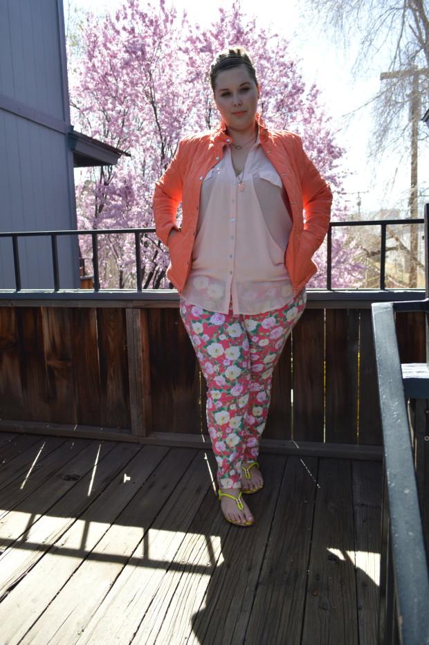 spring,floral, target, forever 21, plus size pants,