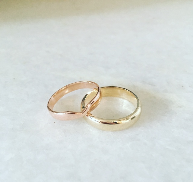 Harriet & Iain Eco Wedding Rings
