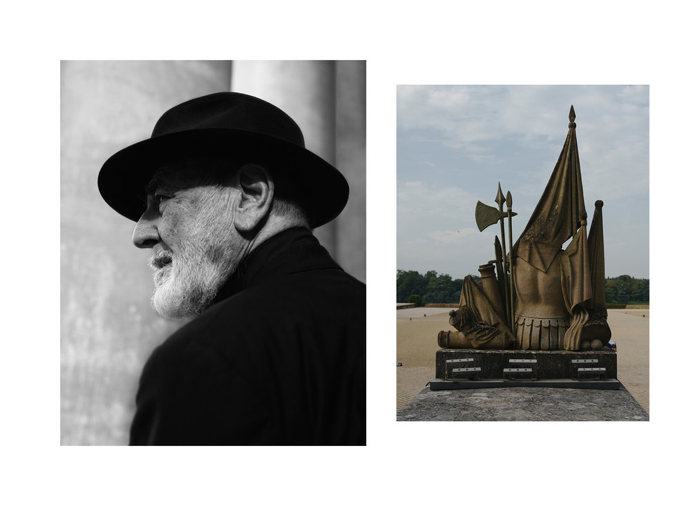 michelangelo pistoletto for sleek magazine