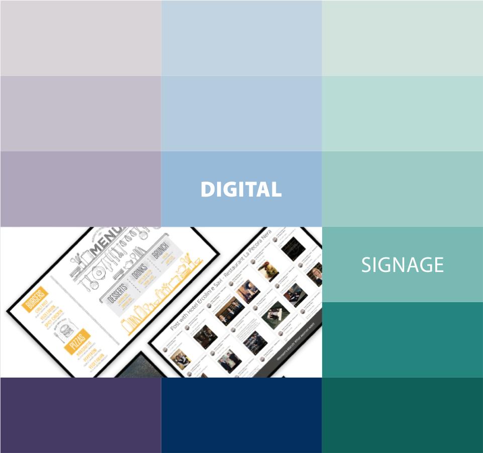 smartiKette - digital signage