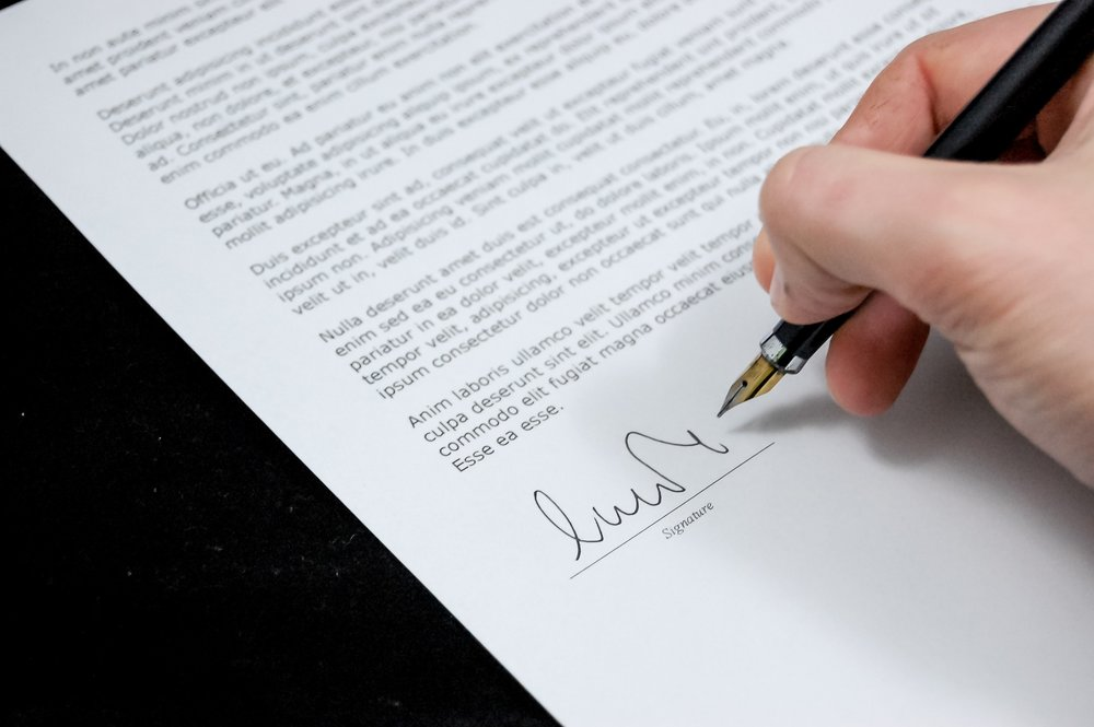 Signed Franchise Agreement