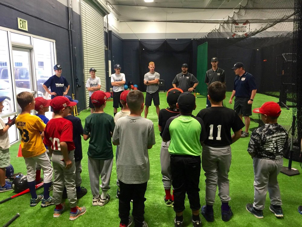 Becoming Comepetive Players... - is every young athletes' goal, and that is exactly what the Youth Training Program produces: competitive athletes, who are ready for the next step.  Walbeck Baseball Academy trains skilled, and knowledgeable players that are disciplined in their approach, and well rounded.  This is accomplished with a solid foundation that will follow a young athlete from the very beginning, to signing their letter of intent.