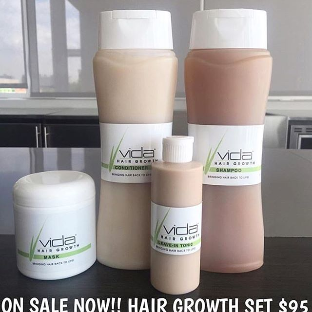 Wow the demand has been insane!!! Thank you to everyone who has purchased @vida_hairgrowthproducts SALE IS GOING ON NOW TILL 12AM‼️Get yours quickly at Nail Lounge or order VIA Pay Pal
