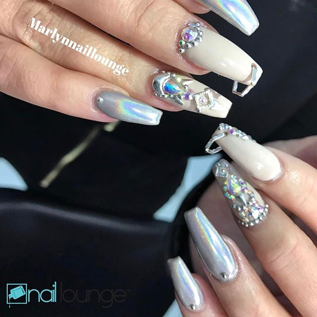 They say someone made this a trend!! However us Nailtista know this style has been around forever!! Yey or Ney?? Tag a friend who would or should be rocking this look.
