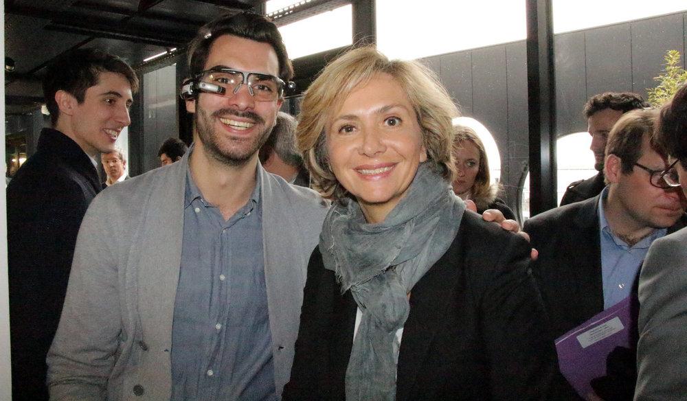 Valérie Pécresse unveiled our new premises.