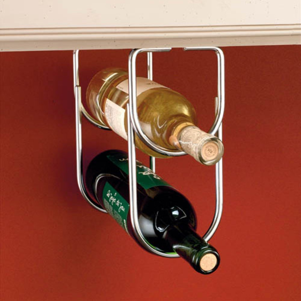 Rev-A-Shelf Under Cabinet Double Wine Bottle Rack