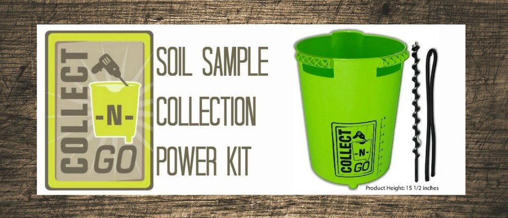 In addition to traditional soil probes, Holmes SWCD offers a Collect-N-Go kit that connects to a portable drill for easy soil collection on the go.