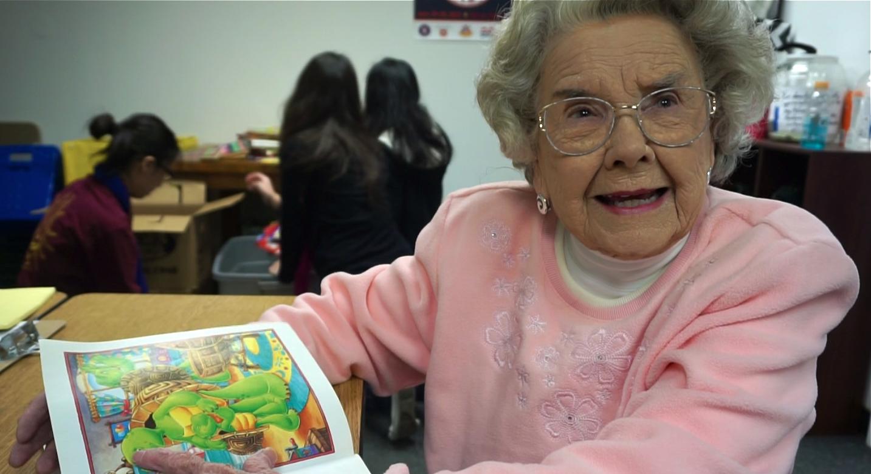BBK volunteer 80 year old