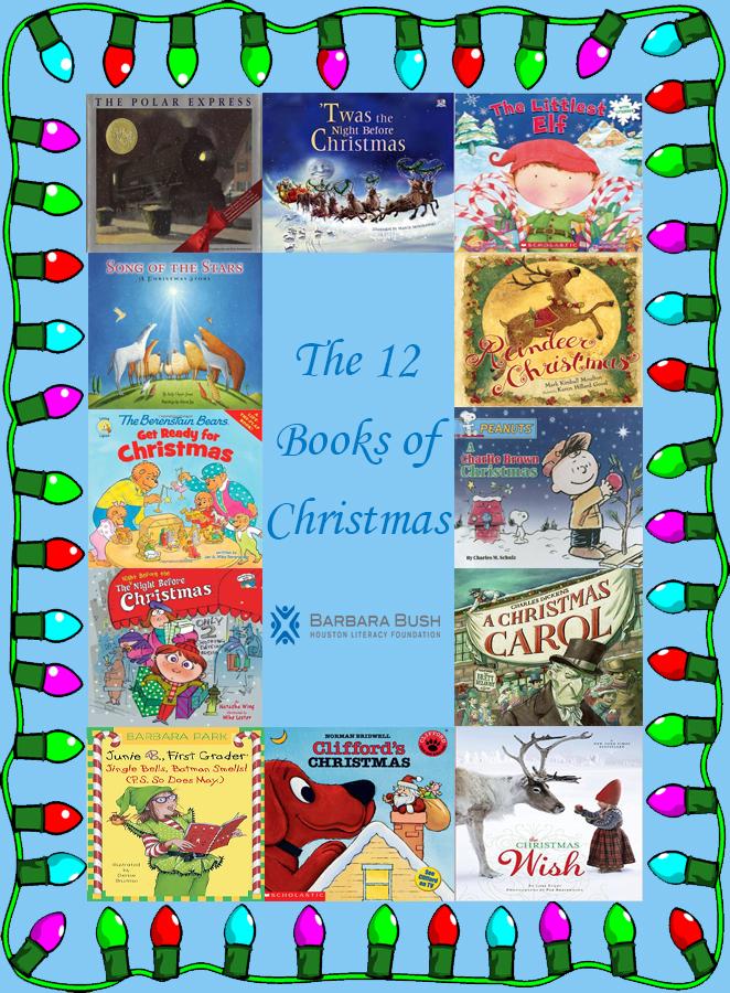 12 days of christmas book list