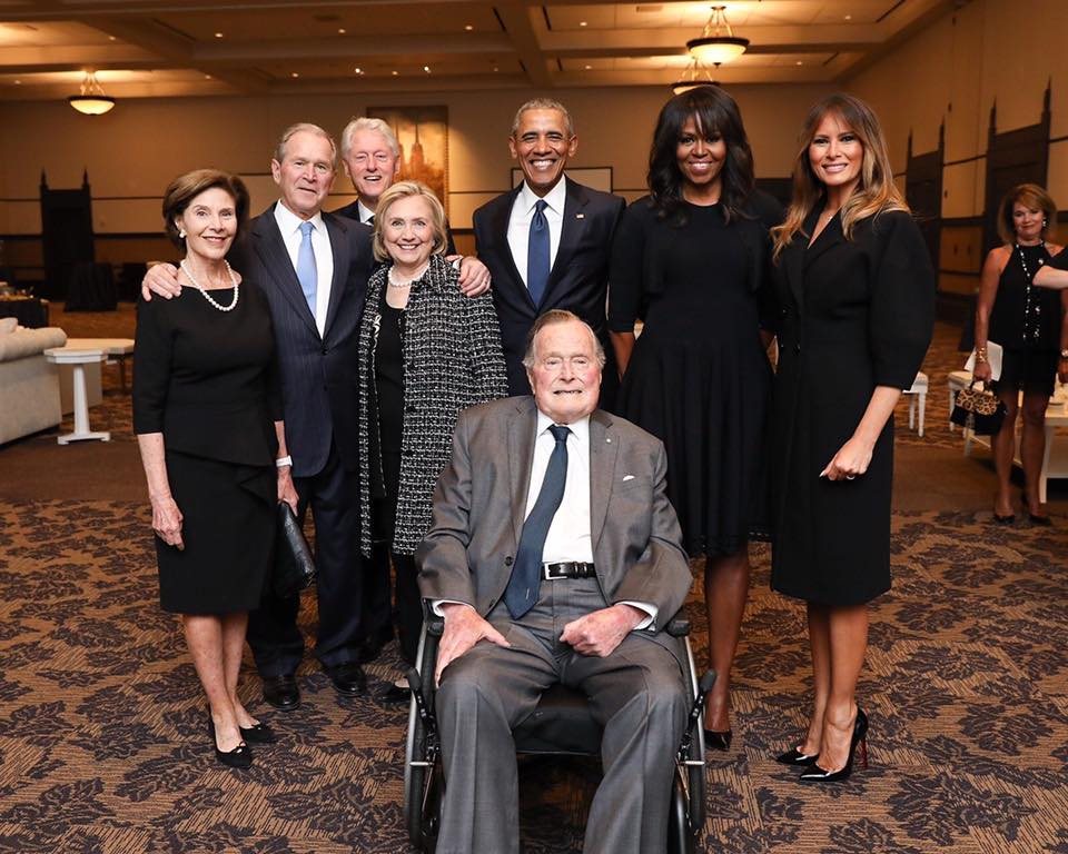Presidents at Barbara Bush Funeral.jpg