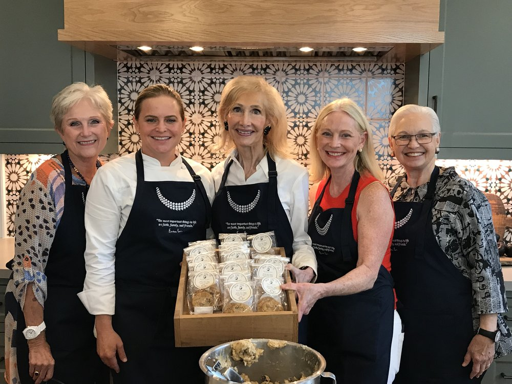 Members of the Ladies for Literacy Guild with Chef Rodriguez.