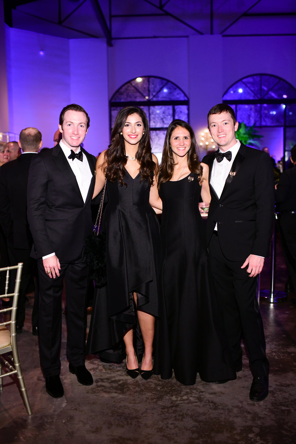 Jeff Carnrite, Joselyn Tego, Casey McNorton, Nick Carnrite; Photo by Daniel Ortiz.jpg
