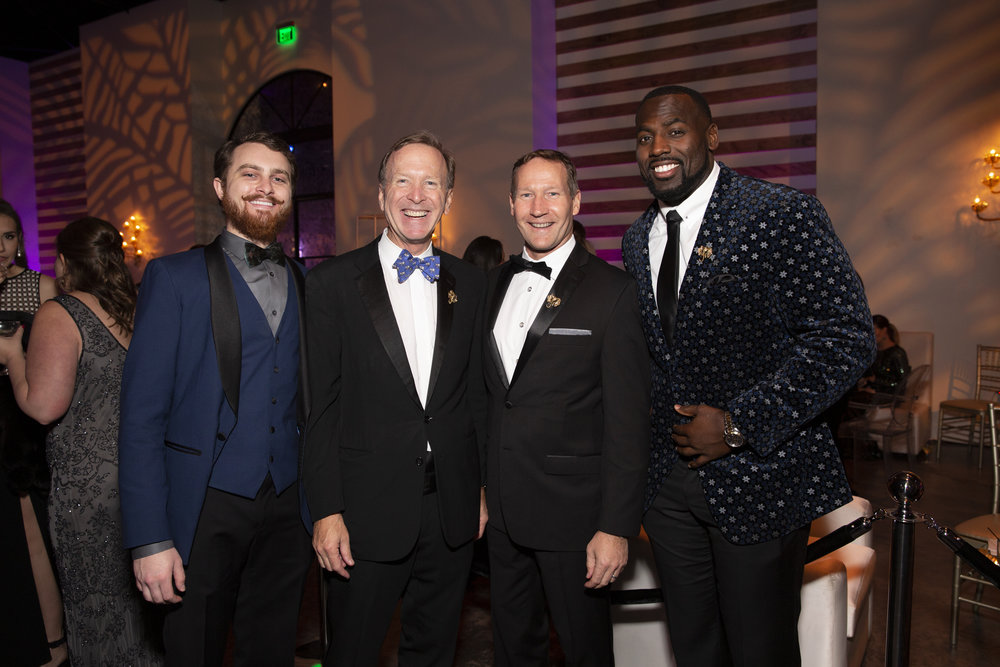 Pace Andrews, Neil Bush, Ron Finck, Whitney Mercilus; Photo by Jenny Antill.jpg