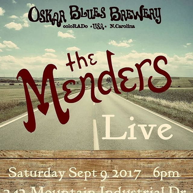 We're excited to be returning to @oskarblueswnc in september!! #ncmusic #drinkncbeer #wnc #brevard #oskarblues #coloradobeer