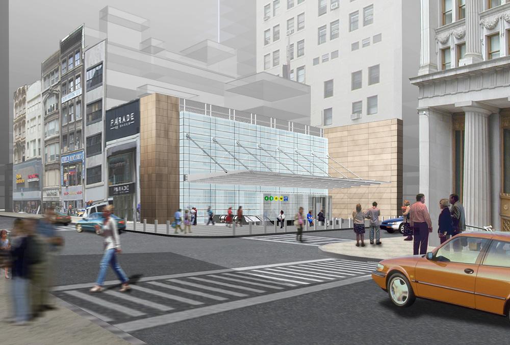 Fulton Street Transit Center Complex