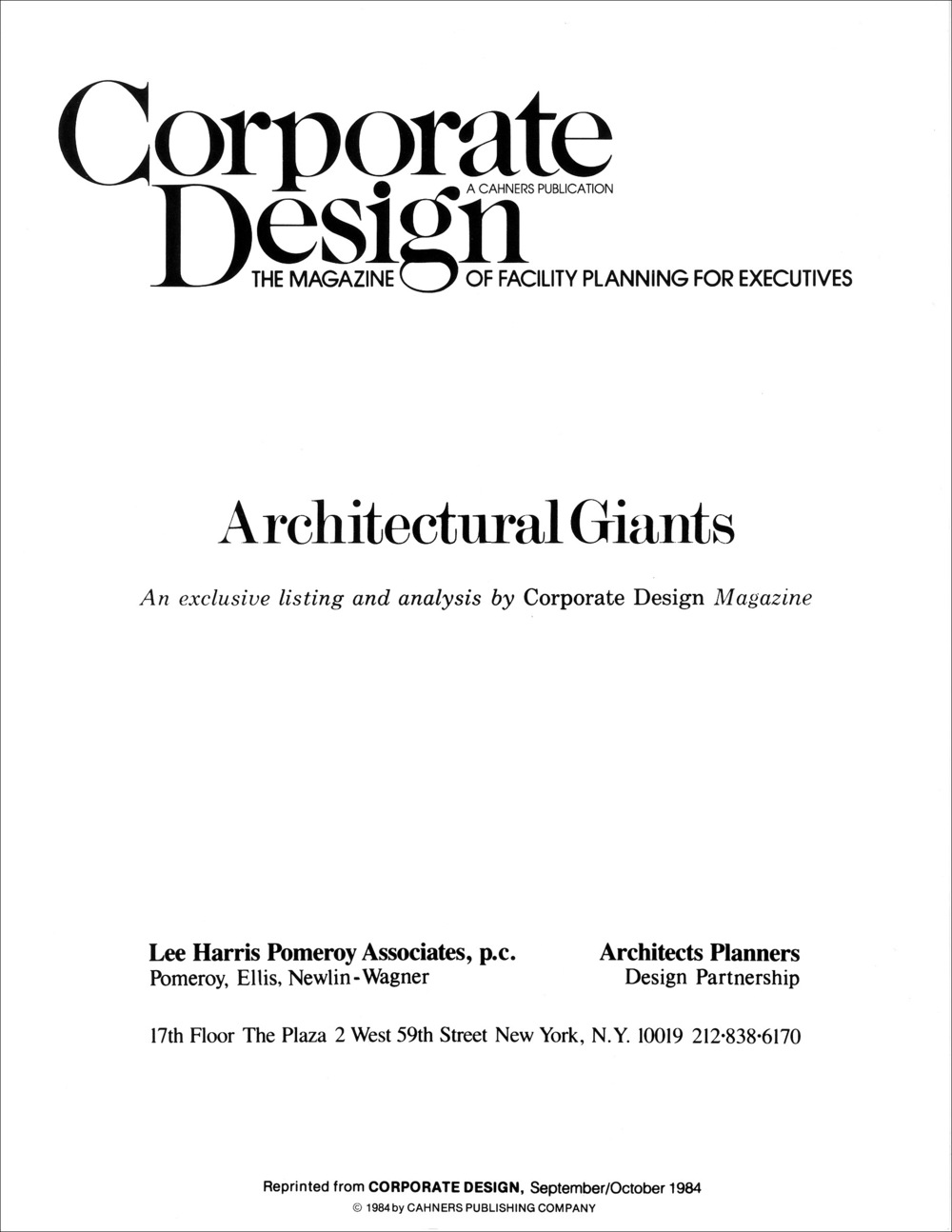 Architectural Giants