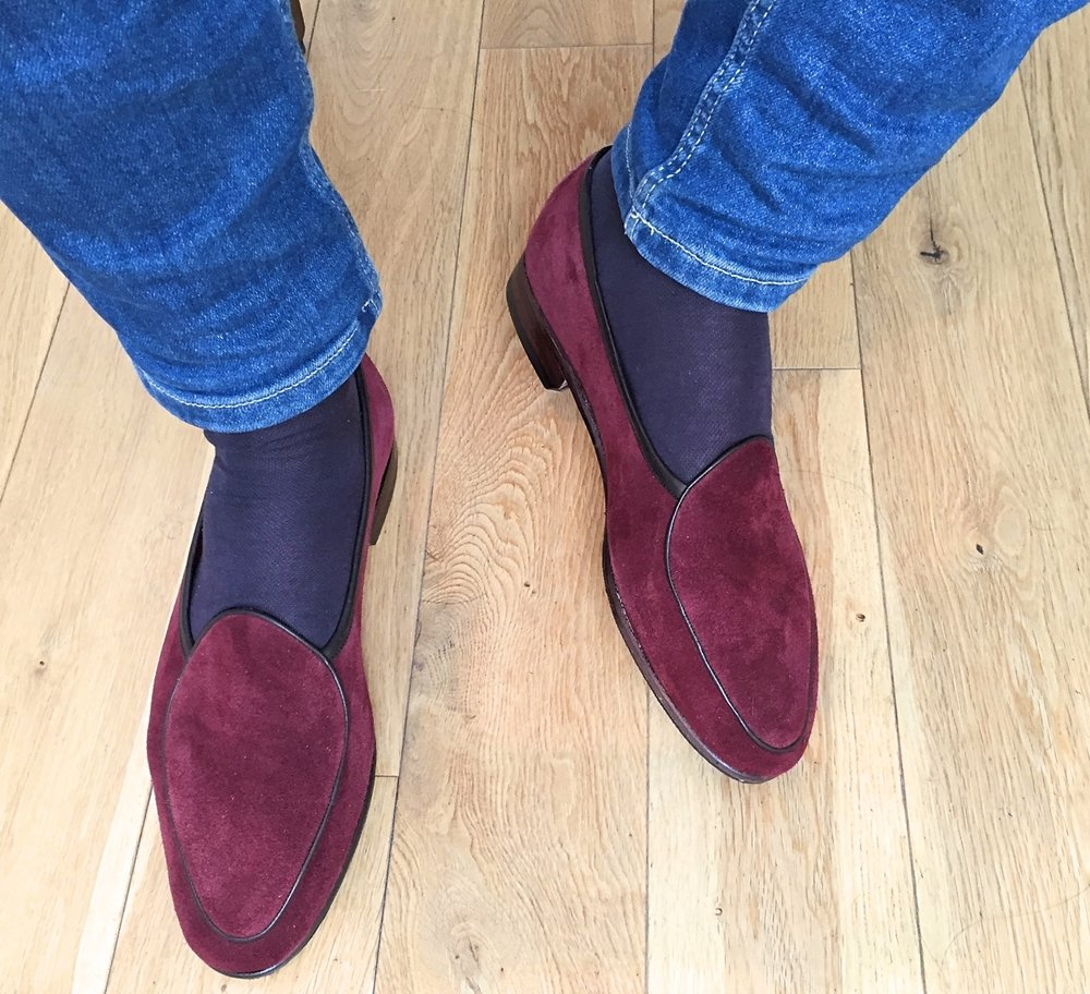 "John Shennan London, United Kingdom ""I love the loafers – the fit and comfort are sensational. The cushioned soles are phenomenal in providing extra comfort! I find myself wearing them in the house and to go out. I loved the attention to detail when you packaged them - the little handwritten note with the shoes, the email exchanges before and after the shoes were dispatched. As a customer, it made me feel like I wasn't buying from another big, faceless retailer. Whatever you're doing, keep doing it!"""