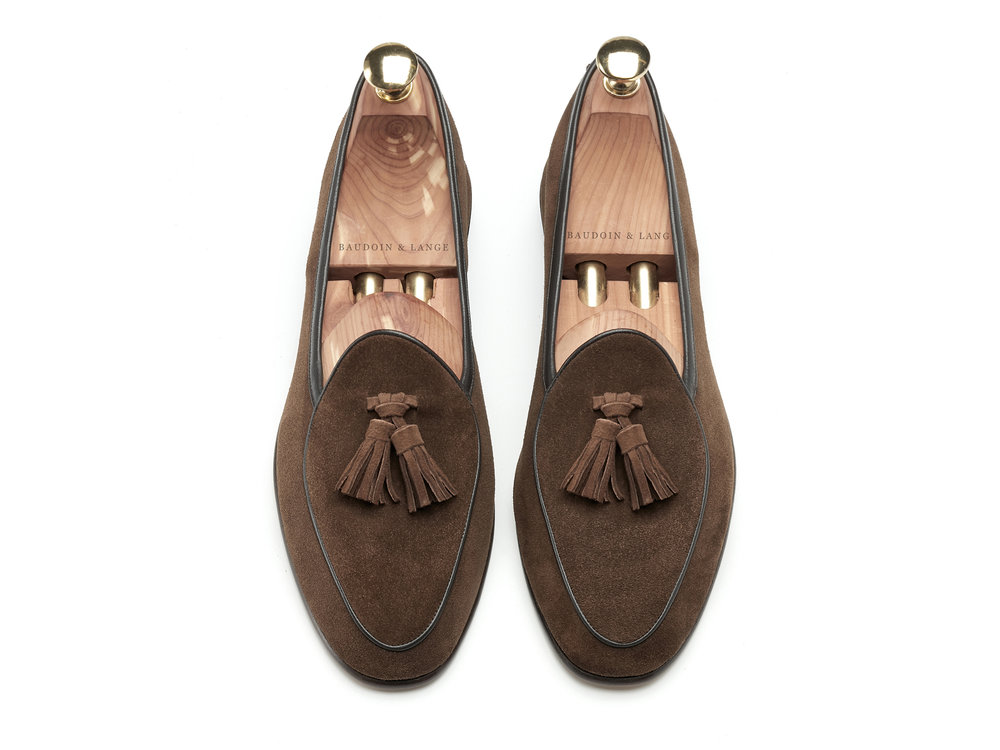 a20c8e48a0a84 Oak Brown Tassel Loafers - Mens Loafers - Womens Loafers