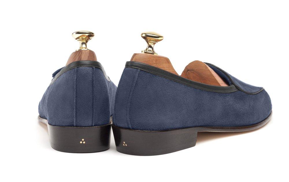 Belgian Indigo Loafers