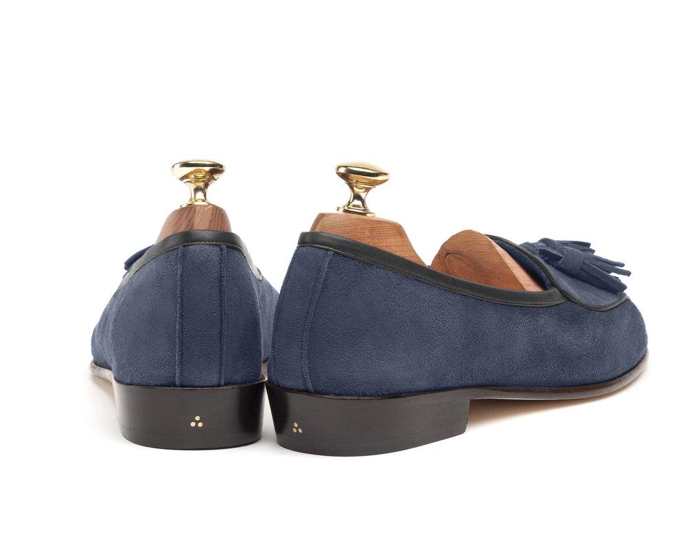 Belgian Indigo Tassel Loafers
