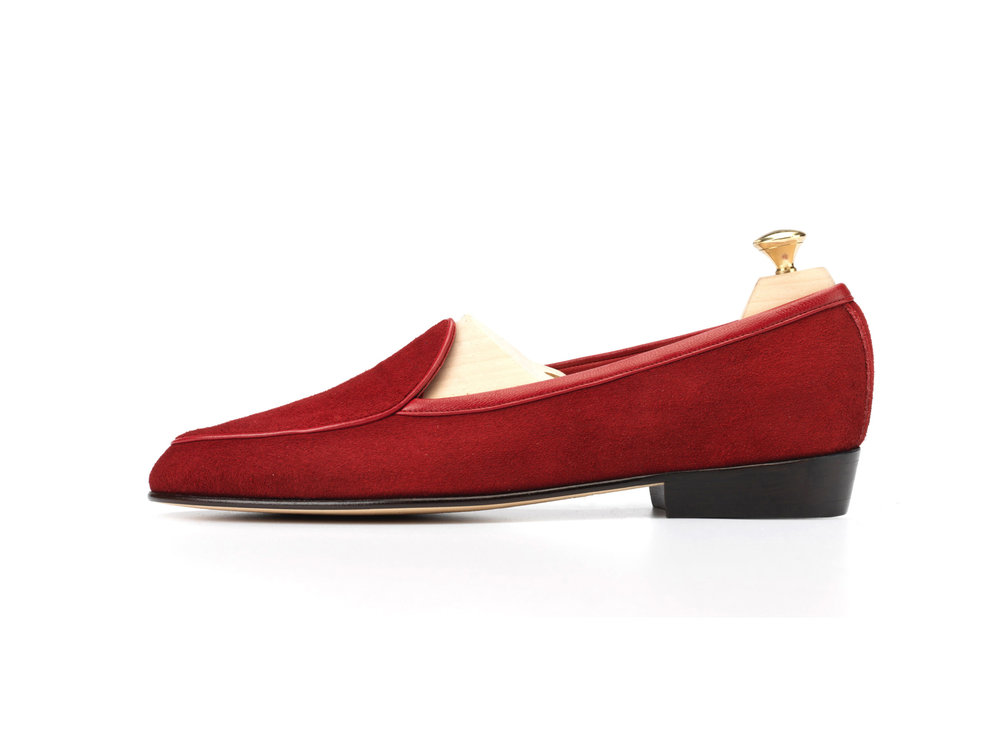 d0c8278344fe86 Chaperon Red - Classic Loafers - Mens Loafers - Womens Loafers