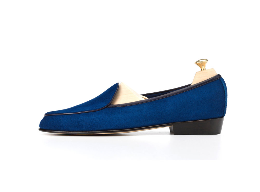 Admiral Blue - Classic Loafers - Mens Loafers - Womens Loafers