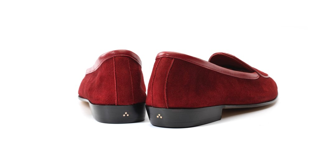 red loafers womens