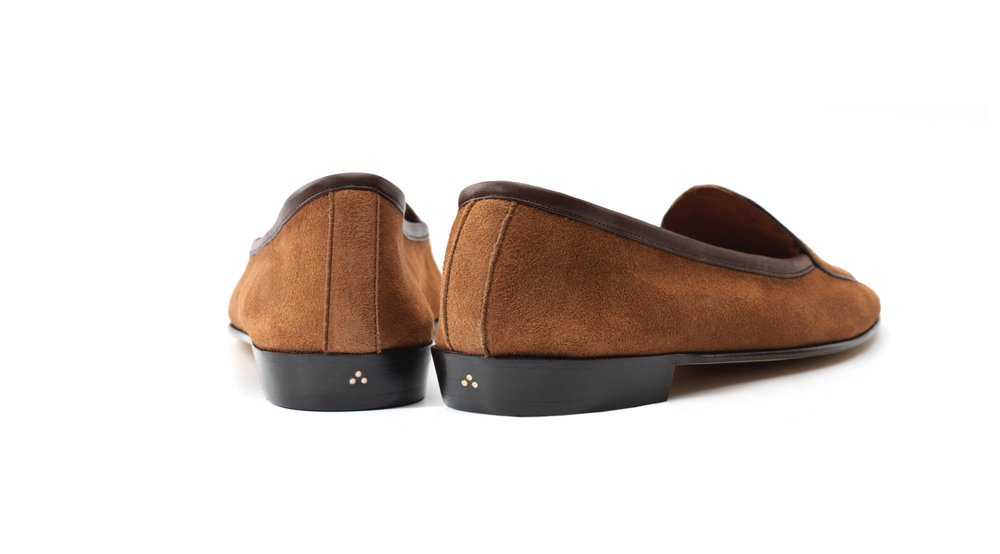tan loafers womens