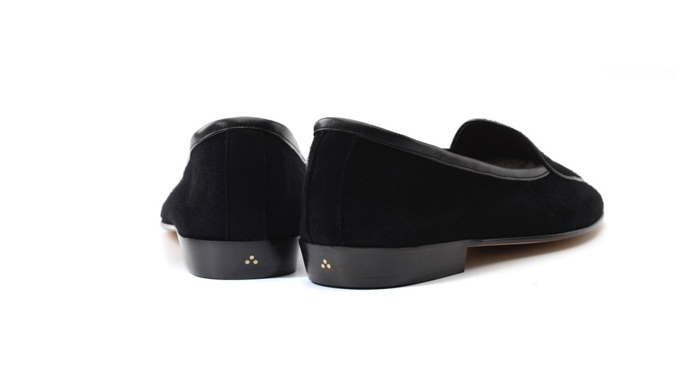 black loafers womens