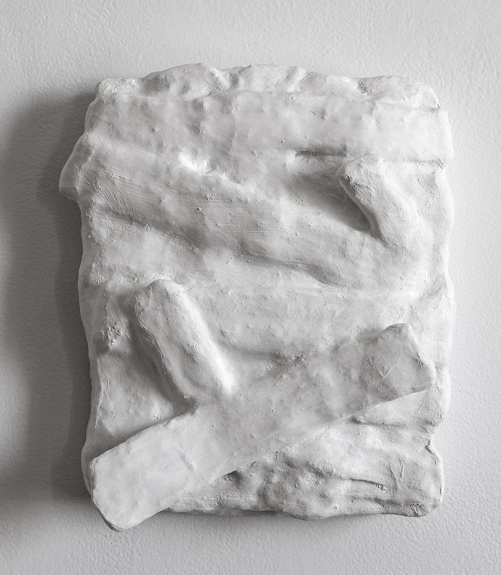_________________  2015  plaster cloth  12 x 10.75 x 4  _________________